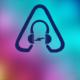 Reveal Simple Glitchy Logo