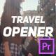Travel Vlog Opener - VideoHive Item for Sale