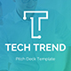 Tech Trend Pitch Deck Powerpoint Template - GraphicRiver Item for Sale