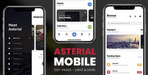 Asterial Mobile | PhoneGap & Cordova Mobile App Download