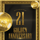 Gold Anniversarry Flyer - GraphicRiver Item for Sale