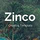 Zinco Premium Google Slide Template - GraphicRiver Item for Sale