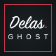 Delas -  Creative Ghost Portfolio and Magazine Theme