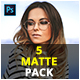 5 Matte Pack Photoshop Actions - GraphicRiver Item for Sale