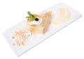 Delicious custard cake with orange. - PhotoDune Item for Sale