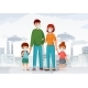 Family Protection From Contaminated Air - GraphicRiver Item for Sale