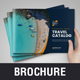 Holiday Travel Bifold Brochure Template v2 - GraphicRiver Item for Sale