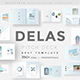 Delas Minimal Design Powerpoint Template - GraphicRiver Item for Sale