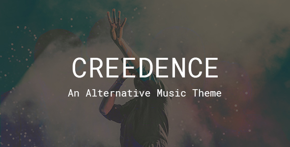 Creedence - Music Band, Singer & Producer Theme