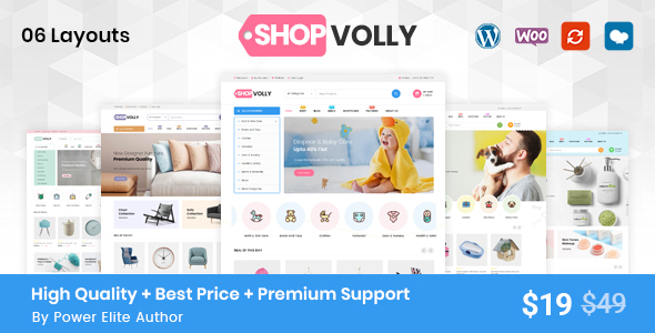 ShopVolly - Multipurpose WooCommerce Theme