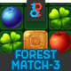 Forest Match 3 Full Game Asset - GraphicRiver Item for Sale