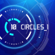 10 Futuristic Hud Circle Elements - GraphicRiver Item for Sale
