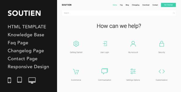 Customization Website Templates from ThemeForest