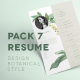 Pack 7 Template Resume Design - GraphicRiver Item for Sale