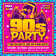 90s Party Flyer - GraphicRiver Item for Sale
