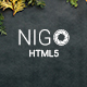Nigo - Creative Parallax One Page HTML Template - ThemeForest Item for Sale