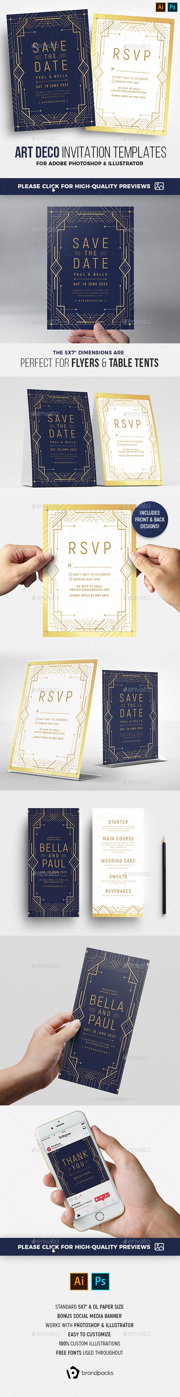 2020's Best Selling Wedding Invitation Templates