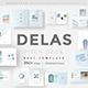 Delas Minimal Design Keynote Template - GraphicRiver Item for Sale