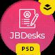 JBDesks - Job Board and User Dashboard PSD Template - ThemeForest Item for Sale