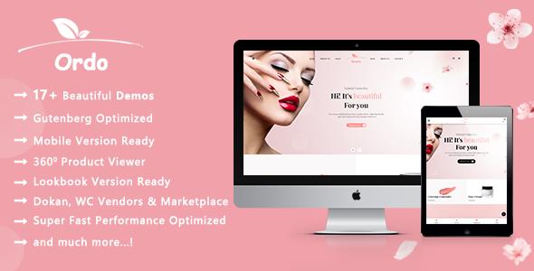 Ordo | Cosmetics Beauty WooCommerce WordPress Theme