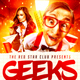 Geeks Nerd Party Flyer - GraphicRiver Item for Sale