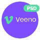 Veeno - App Landing Page - ThemeForest Item for Sale