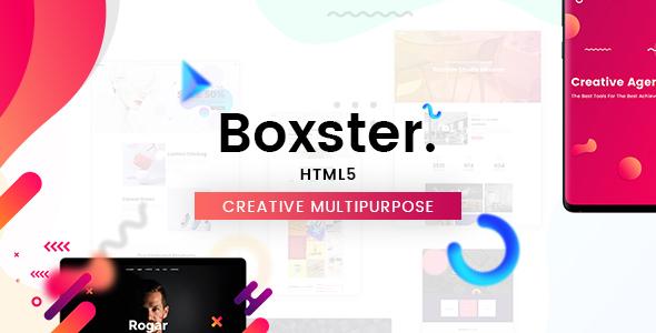 Boxster - Creative Multi-Purpose HTML5 Template