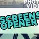 Screens Opener - VideoHive Item for Sale