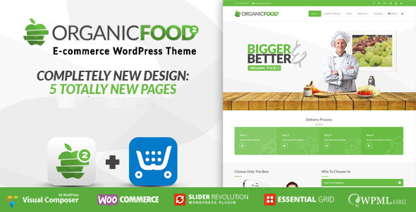 Organic Food | Farm Business Eco WordPress Theme