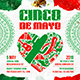 Cinco de Mayo Party Square Flyer vol.1 - GraphicRiver Item for Sale