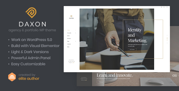 Daxon - Agency & Portfolio WordPress Theme