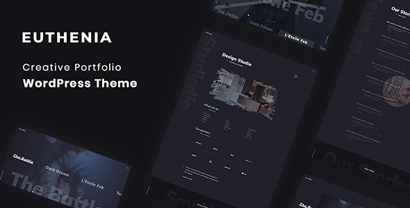 Euthenia - Creative Portfolio WordPress Theme