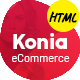 Konia - A Well Designed eCommerce Business Template - ThemeForest Item for Sale