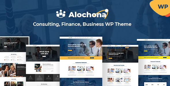 Alochona – Business Consulting WordPress Theme