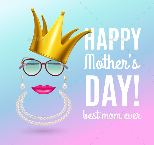 Queen Mother Day Background