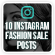 Instagram Fashion Posts - GraphicRiver Item for Sale