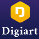 Digiart - Digital Agency  PSD Template - ThemeForest Item for Sale