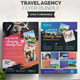 Travel Agency Flyer Bundle 2 in 1 - GraphicRiver Item for Sale