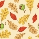 Autumn Leaves and Horse Chestnut - GraphicRiver Item for Sale