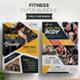 Fitness Flyer Bundle 2 in 1 - GraphicRiver Item for Sale