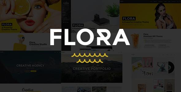 Flora – Responsive Creative WordPress Theme