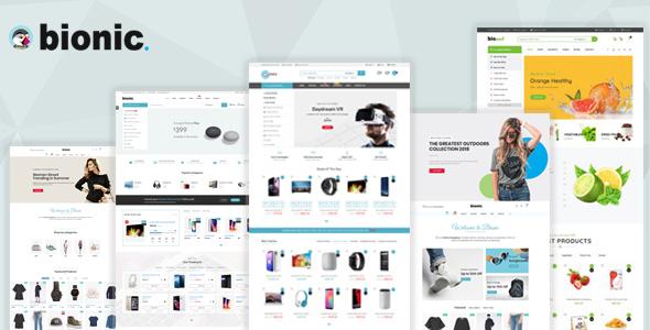 Bionic - Multi-Purpose Store Responsive Prestashop Theme V1.6 & V1.7