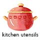 Watercolor Kitchen Utensils Set 2 - GraphicRiver Item for Sale