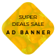 Super Deal Sale - HTML Ad Banners - CodeCanyon Item for Sale