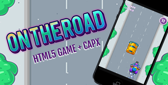 On The Road Endless Game HTML5 + CAPX