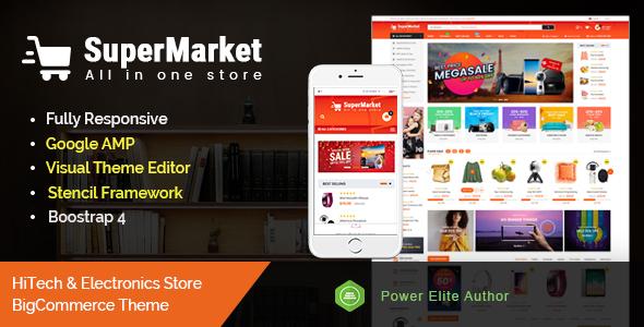 SuperMarket – Multipurpose Creative  BigCommerce Theme