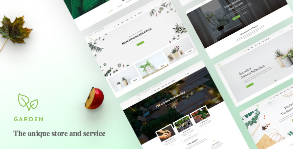 Garden - Lawn & Landscaping Bootstrap 4 Template