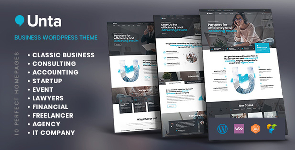Unta - MultiPurpose Business WordPress