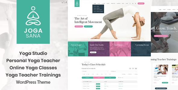 Jogasana - Yoga Oriented WordPress Theme