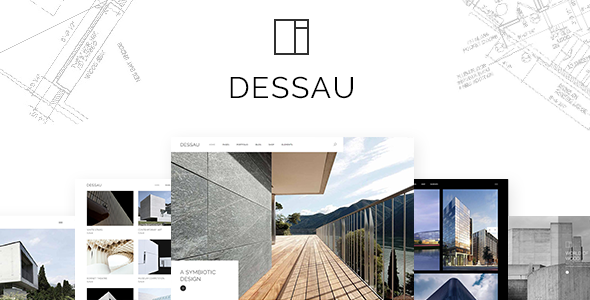Dessau - Contemporary Theme for Architects and Interior Designers